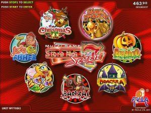 casino slot machines multigame