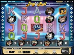 where to find the dog n roll slot game