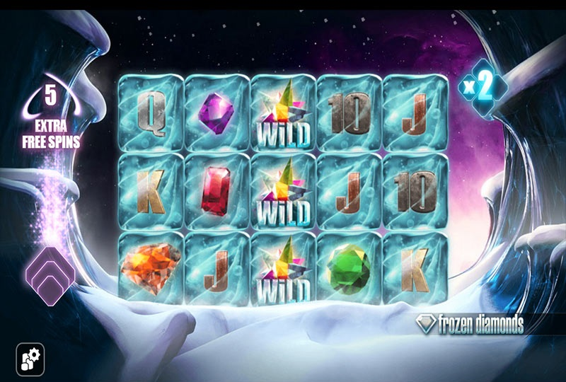 why should you bet on frozen diamonds slots