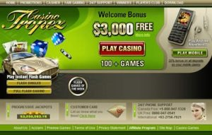 what games can you find at the tropez online casino