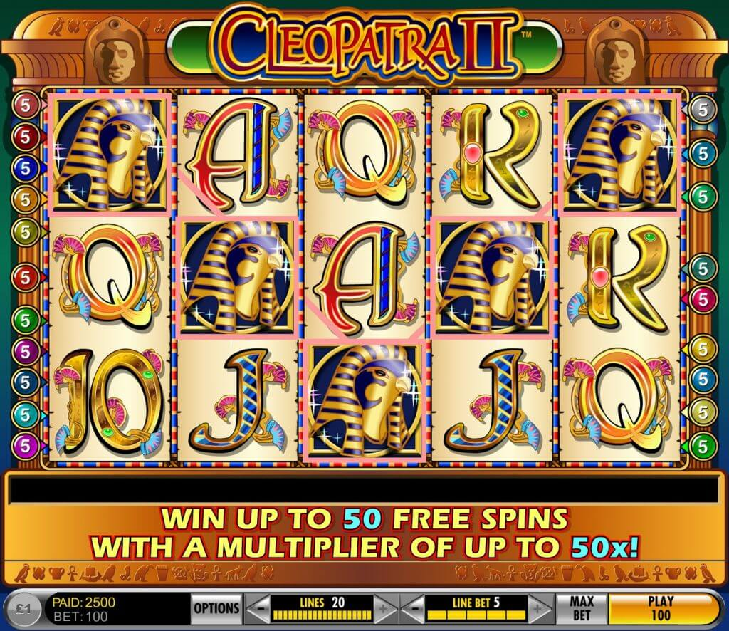 online slot machines cleo
