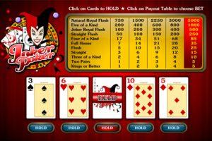 online video poker joker