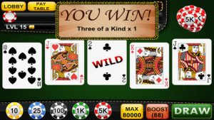 online video poker wild