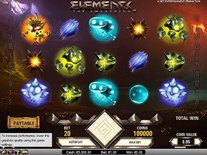 vegas slots reviews elements